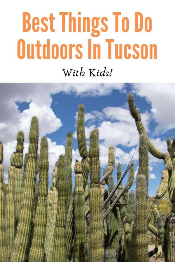 Tucson, Arizona is a great destination to experience the desert. Here are some of the best things to do outdoors in Tucson that are kid-friendly and scenic. Post includes tips on when to go and what to pack! #familytravel #Arizona #guide #USA