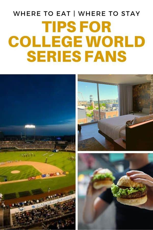 Headed to Omaha for the College World Series? Here are locals' tips on where to eat, where to drink, and where to stay near the ballpark. #guide #Omaha #Nebraska #tips