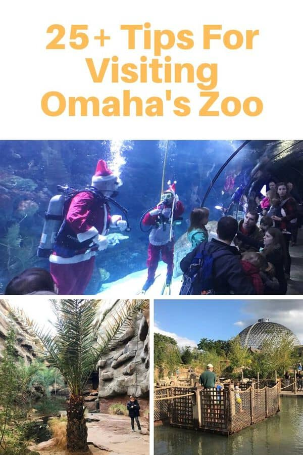 The biggest tourist attraction in the state of Nebraska is Omaha's Henry Doorly Zoo & Aquarium. Here are Omaha zoo tips for making the most of your visit! Find out when to go, what to see & do, and how to save money. #guide #tips #Omaha #USA