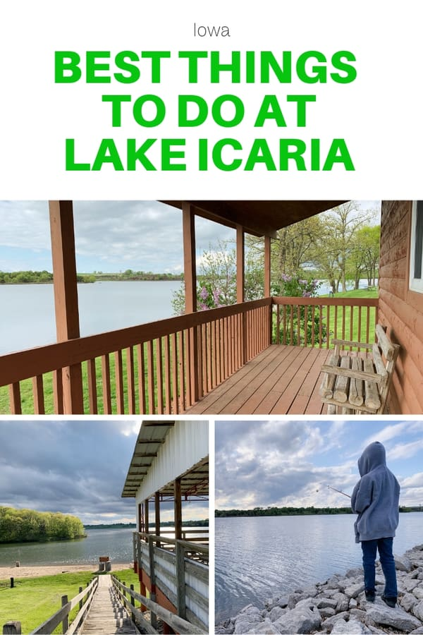 Things to do at the southwestern Iowa park Lake Icaria - Get details on camping and cabins, lake activities, and other kid-friendly things to do at the lake. #Iowa #Midwest #familytravel #camp