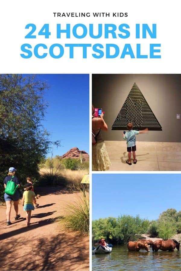 There are so many fun things to do in Scottsdale, but if you only have a day, here's a guide to choosing what's best! Read this post for tips on family-friendly things to do outdoors, indoor activities (for hot days) and hotel recommendations. #Tips #Arizona #Scottsdale