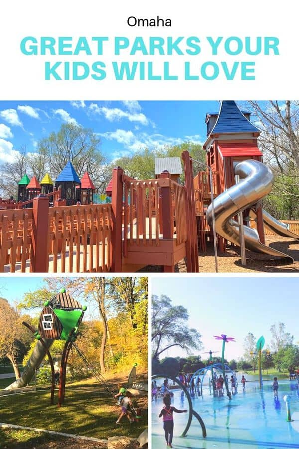 Looking for the best playgrounds in Omaha? Here are 8 great Omaha parks to seek out (plus one just outside the city that's worth the drive). #Omaha #Nebraska #outdooors