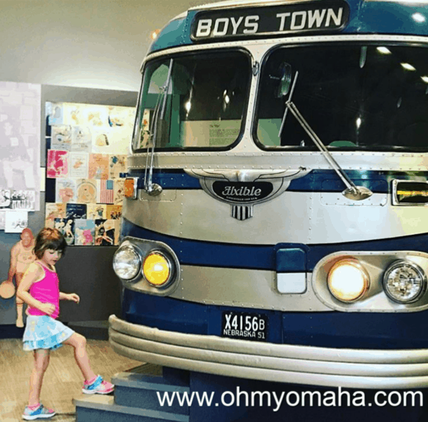 Free things to do with kids in West Omaha - Visit Boys Town and its Hall of History