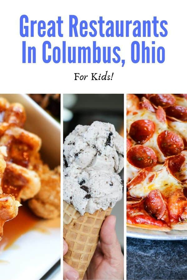 Planning a family vacation to Columbus, Ohio? Here are recommended some Columbus restaurant for kids. #familytravel #Ohio #eatlocal