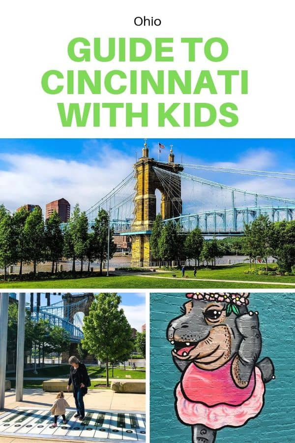 A local's guide to Cincinnati with kids - Helpful suggestions on things to do in Cincinnati, including parks to visit and must-see museums. Post also includes recommended Cincinnati restaurants and hotels for families! #FamilyTravel #Cincinnati #Ohio #Guide
