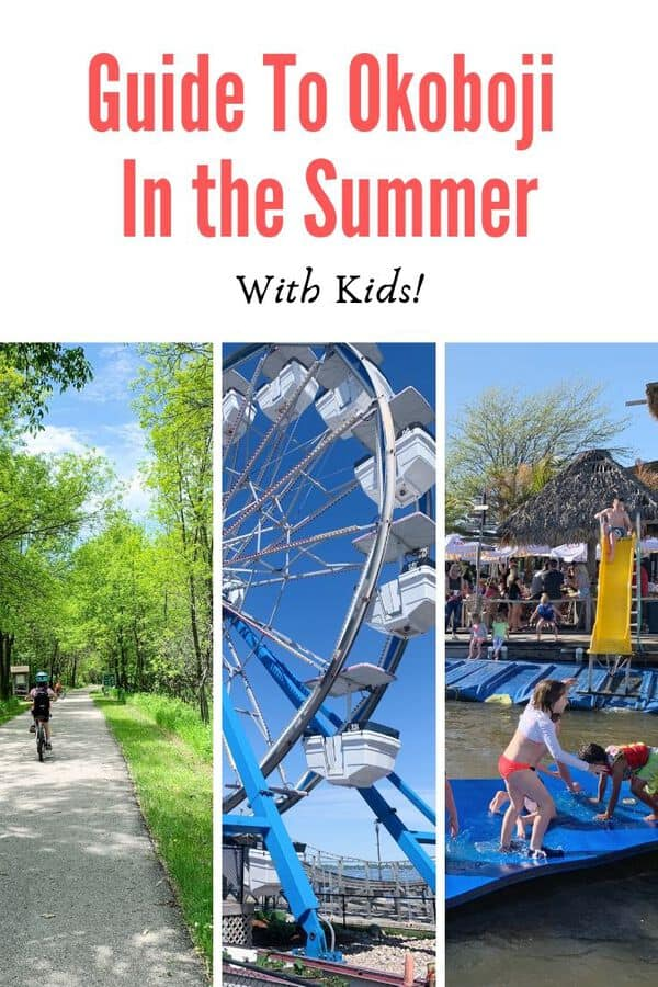 All the fun things families can do in Okoboji, Iowa this summer - There's plenty to do on the lakes, but read up on outdoor adventures, indoor recreation and kid-friendly dining options. #Guide #Midwest #FamilyTravel