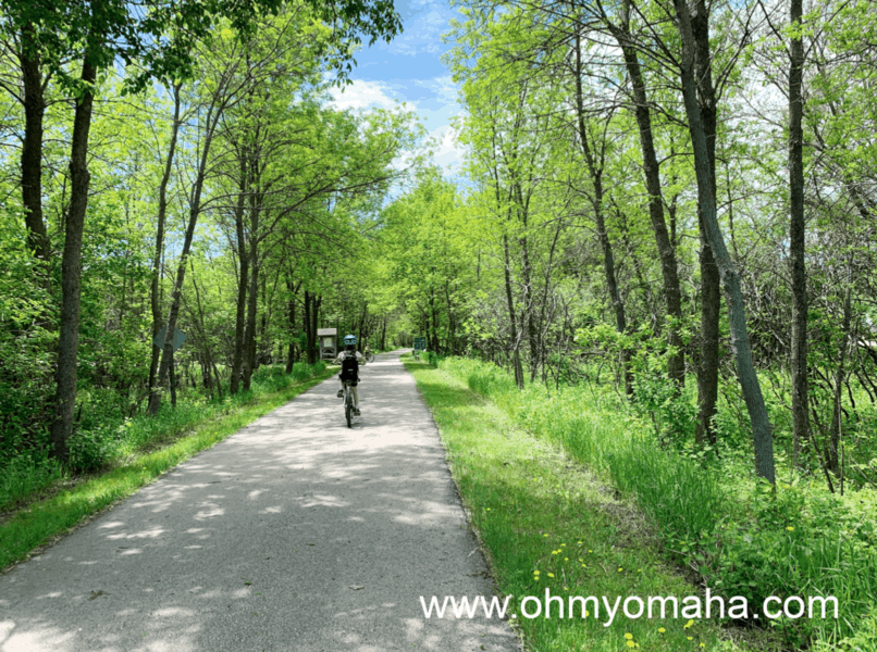 Things to do Okoboji in the summer with kids (besides being on the lake) - The area is surprisingly bike-friendly with plenty of bike trails.