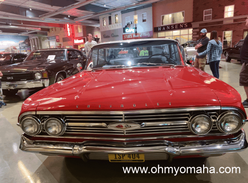 Okoboji Classic Cars is part museum, part art gallery. It's a good rainy day activity in Okoboji since everything is indoors.