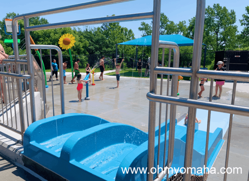 Spray and Splash Park at Platte River State Park - Families can go to the splash pad daily during the summer for a minimal admission fee.