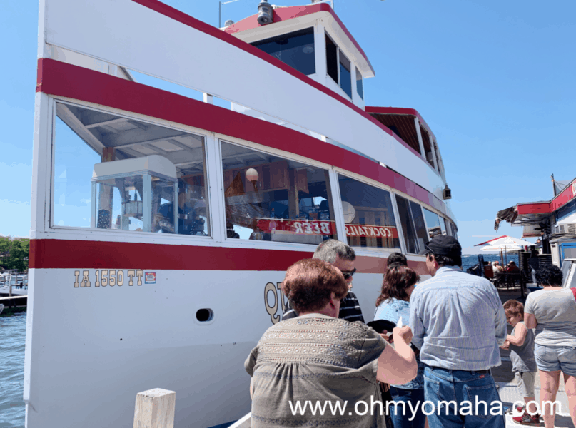Guide to Okoboji in the summer - Hour-long tours aboard the Queen II are held several times most days