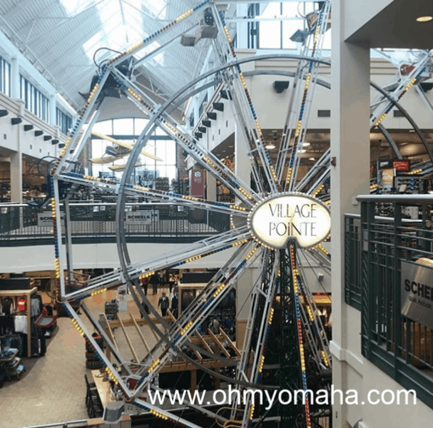 Indoor Ferris wheel in Omaha