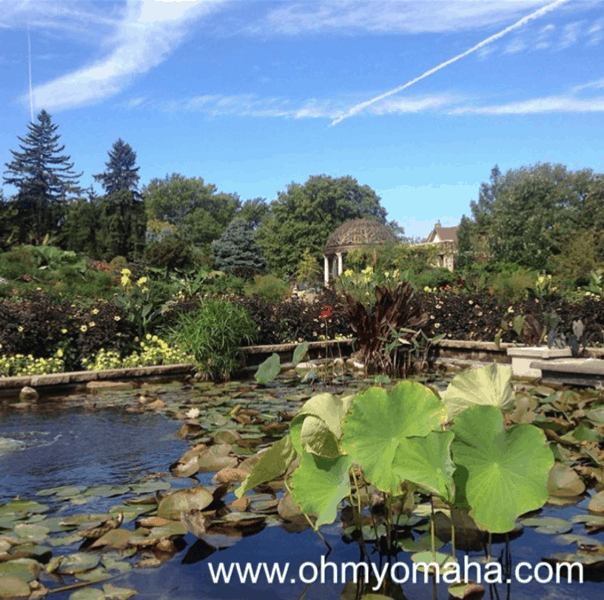 Things to do in Lincoln Ne with kids - Explore the Sunken Gardens, a free public garden. The Sunken Gardens has water features and trails.