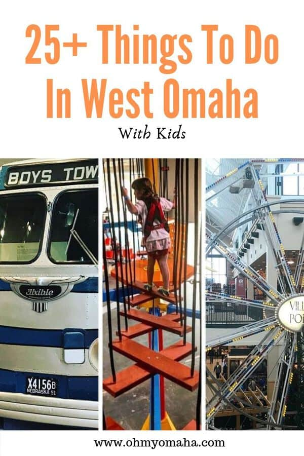 Looking for things to do in Omaha? Check out the fun attractions, entertainment venues and more that are located in West Omaha, a suburb of the city. Here are 25+ things to do, including free activities and inexpensive options. #guide #Omaha #Nebraska