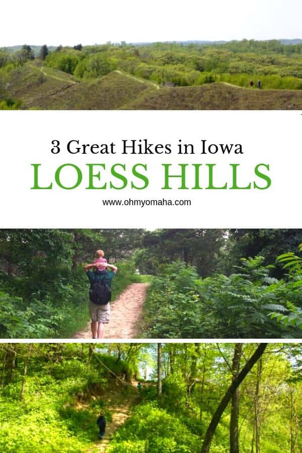 Looking for things to do in Western Iowa? Go for a hike in the Loess Hills! Here's a guide that recommends parks with scenic trails that are also kid-friendly. #Iowa #hiking #outdoors