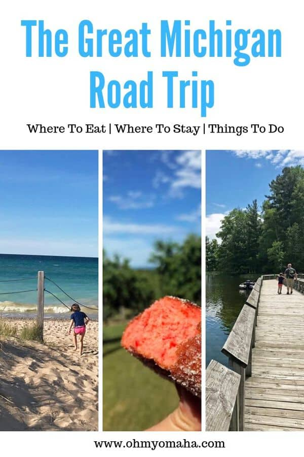 Guide for a road trip through Michigan - If you're looking for. things to do in Michigan, check out this week-long itinerary that includes stops in Grand Rapids, Ludington State Park, Traverse City, Petoskey, Mackinac Island, & Detroit. This family-friendly Michigan road trip guide includes tips on where to stay, what to do, and where to eat.