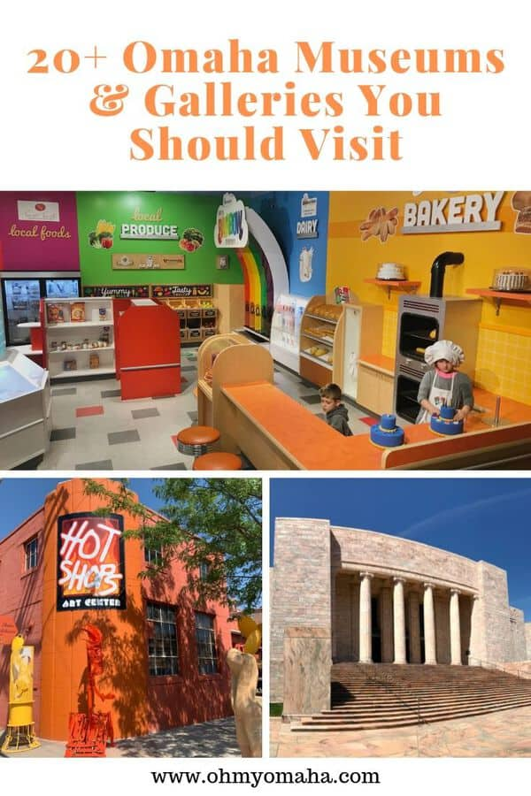 Looking for things to do in Omaha, Nebraska? Visit a museum! Here's a guide to Omaha museums and galleries, including the must-see attractions. #guide #Omaha #Nebraska