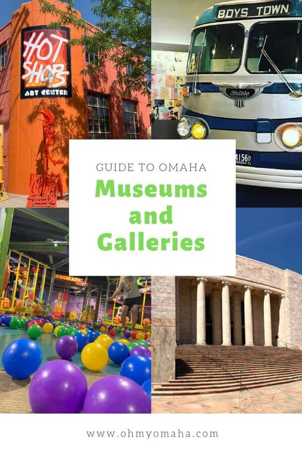 Omaha is home to world class museums and galleries. Here's a guide to visiting the most popular art and history museums and the hidden gems of Omaha. Read this post for tips for visiting the biggest museums in Omaha, as well as suggestions on nearby museums to include on an itinerary. #Nebraska #history #art