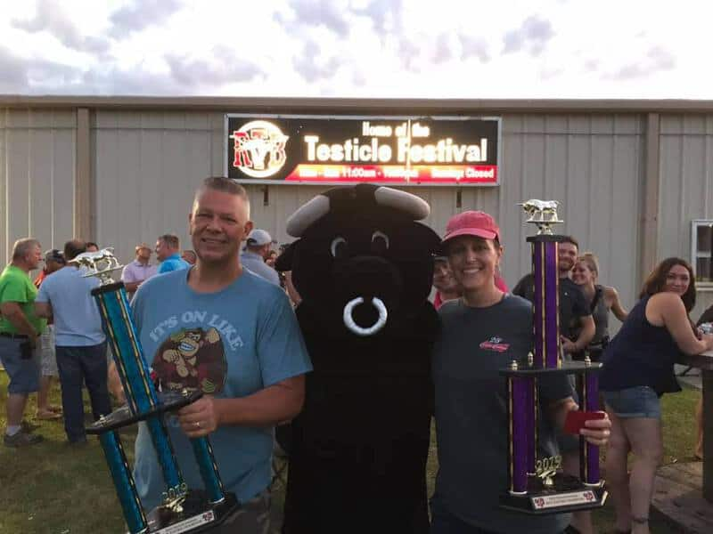 Eating competitions in Nebraska - Try competing in the Testicle Festival's competition held every June at Round The Bend Steakhouse in Ashland.