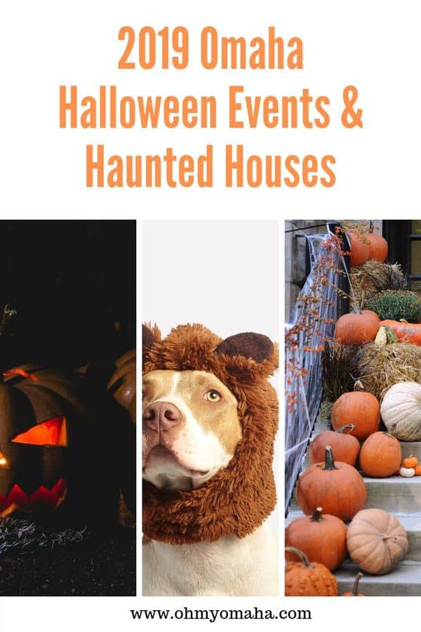 Fall in Omaha  means tons of Halloween events. This list includes haunted houses, Halloween movies, trunk or treats and other special Halloween activities. The list includes 21+ Halloween events. #Halloween #Omaha #Nebraska #hauntedhouse