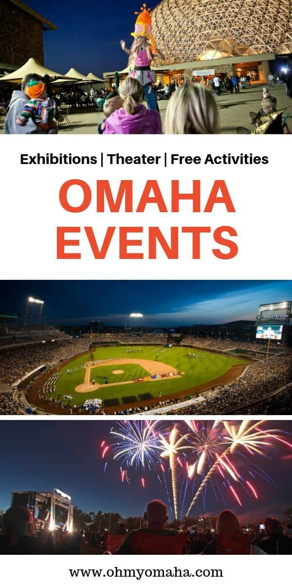 Fun things to do in Omaha with kids - This Omaha event calendar lists upcoming shows, exhibits, free activities and more things happening in the city and nearby. This list is great for finding things to do with kids in Omaha!