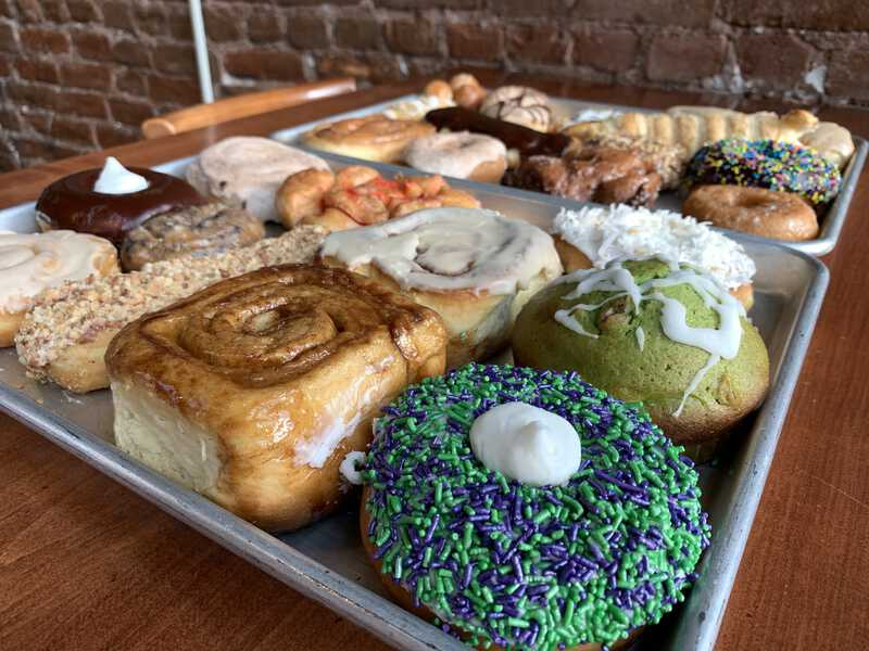 Nebraska Donuts - Sehnert's Bakery and Bieroc Cafe is in McCook, Nebraska
