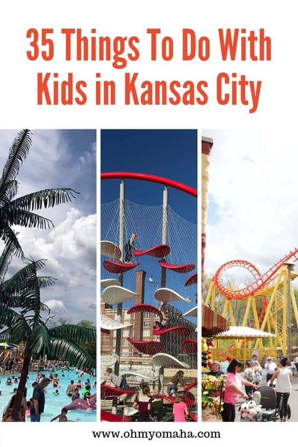 Looking for fun things to do in Kansas City? Here's a list of kid-friendly attractions and restaurants in Kansas City. This post includes some of my favorite holiday events in KC, too! #Missouri #KC #Guide #familytravel #USA