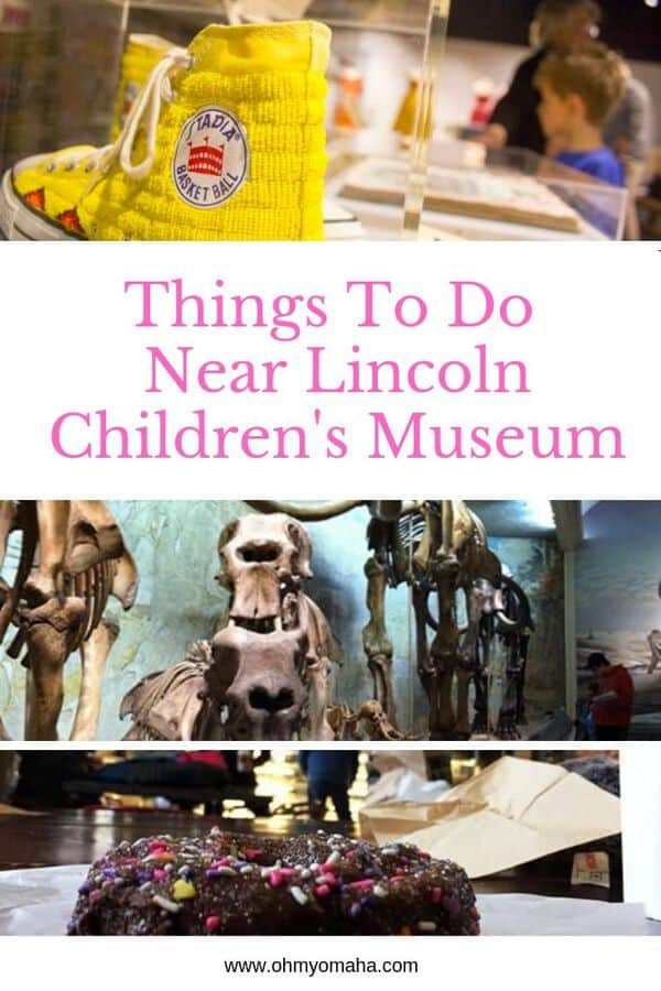 Planning a day trip to Lincoln Children's Museum? Here's a list of things to do near the museum, including kid-friendly restaurants to visit. This post helps families plan a full day of activities, especially if this is just a day trip from a nearby town! #Lincoln #Nebraska #familytravel #staycation