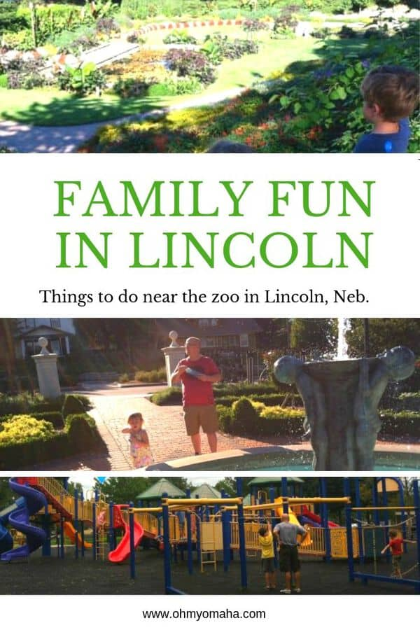Visiting the Lincoln Children's Zoo in Nebraska? Here are a few nearby kid-friendly destinations that are free. Add these to your trip to the zoo to have a full day of fun! #Lincoln #Nebrsaka #familytravel #USA