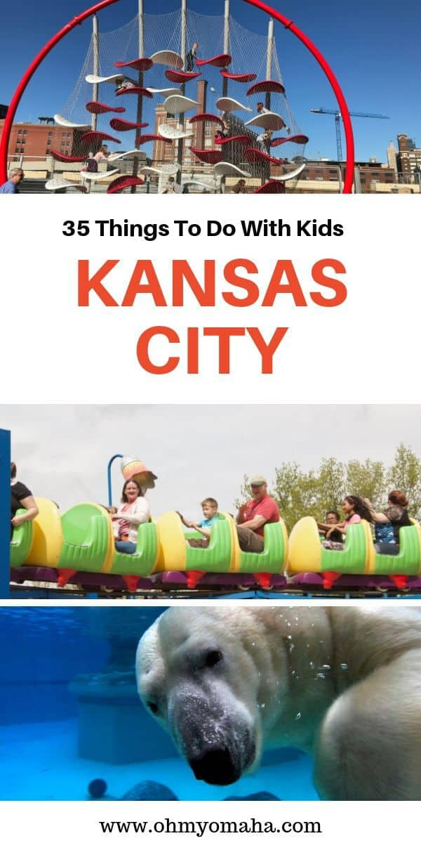 Find 35+ fun things to do with kids in Kansas City, plus kid-friendly restaurant suggestions! #Missouri #familytravel #USA