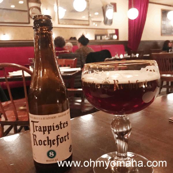 Belgian beer at Dario's