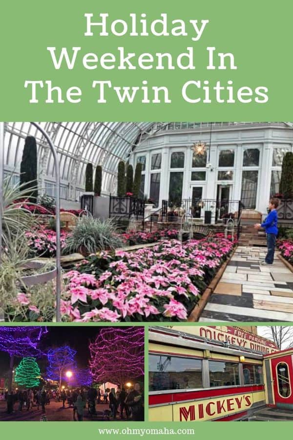 Plan a holiday weekend in Minnesota, with this guide to fun things to do with kids in the Twin Cities. Learn about annual holiday events to attend and year-round favorite attractions to visit. #familytravel #Christmas #guide #TwinCities #Minnesota #USA