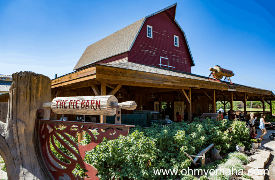 The Pie Barn at Vala's Pumpkin Patch serves pies and other pastries.