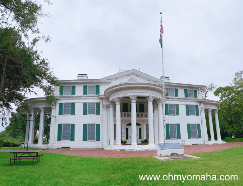 The mansion at Arbor Lodge Historic State Park in Nebraska City.