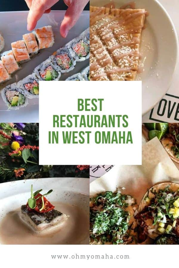 On the hunt for good food in West Omaha? Here's a list of my favorites, including the best places for brunch, date night and a family dinner out! These are the best restaurants in West Omaha. #Omaha #Nebraska #localrestaurants