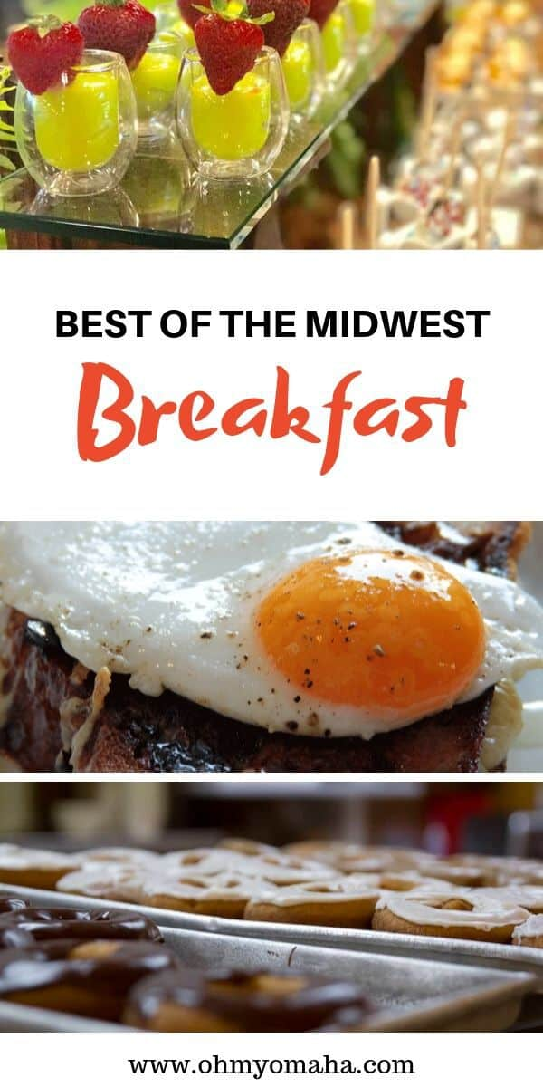Don't miss out on the best breakfast while on vacation! Here are some of the best Midwest restaurants for breakfast. These restaurants offer unforgettable meals for breakfast and brunch! #Midwest #restaurants #guide #travelfood #USA