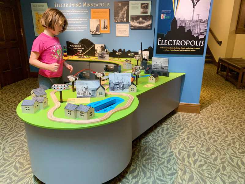 The Bakken Museum is a kid-friendly Minneapolis museum and includes exhibits like Electropolis.