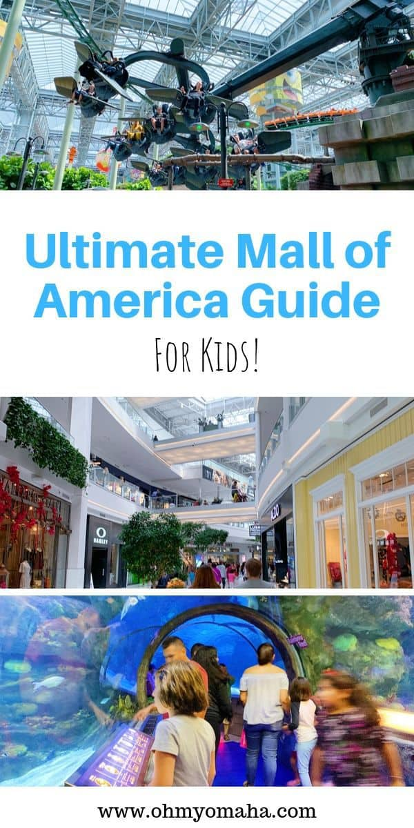 Everything you need to know about Mall of America, especially what to do with kids! This guide includes the attractions, shops, and restaurants that are fun for families. #minnesota #mallofamerica #guide #USA #familytravel