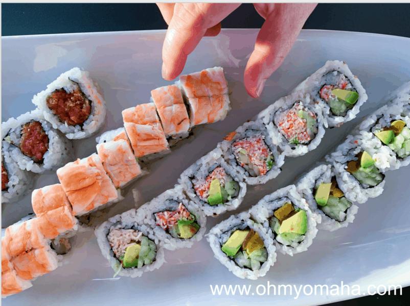 Sushi happy hour at Hiro 88 in Millard