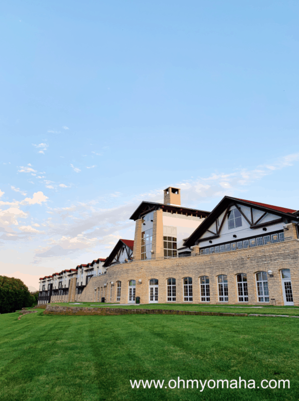 The Timbers at the Lied Lodge and Conference Center in Nebraska City overlooks the property.