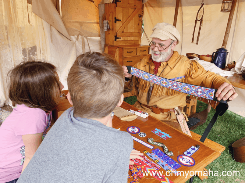One of the special events held in Nebraska City is the Living History Weekends held on Saturdays and Sundays seasonally.