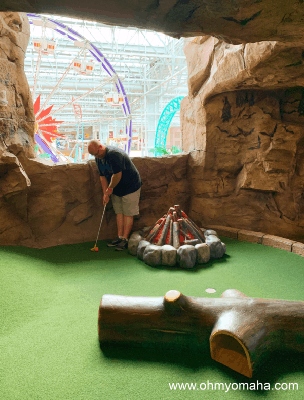 Mini golf, one of the things to do at Mall of America besides shopping