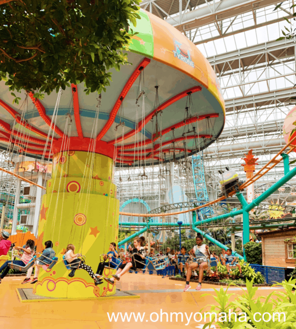 Fun things to do at Mall of America in Minnesota - Ride the rides at the indoor amusement park, Nickelodeon Universe