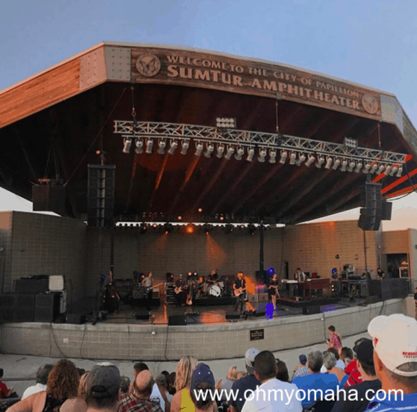 SumTur Amphitheater in Papillion, Nebraska