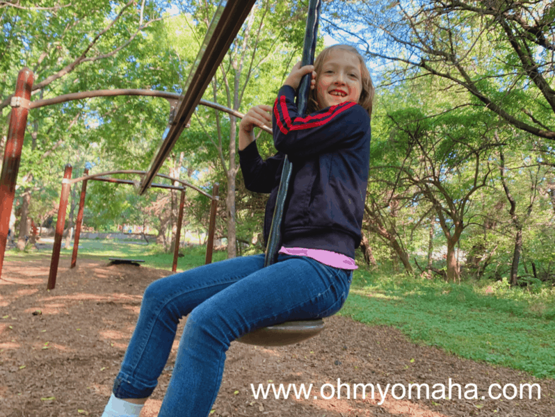 Things for kids to do at Arbor Day Farm - Play at the Tree Adventure