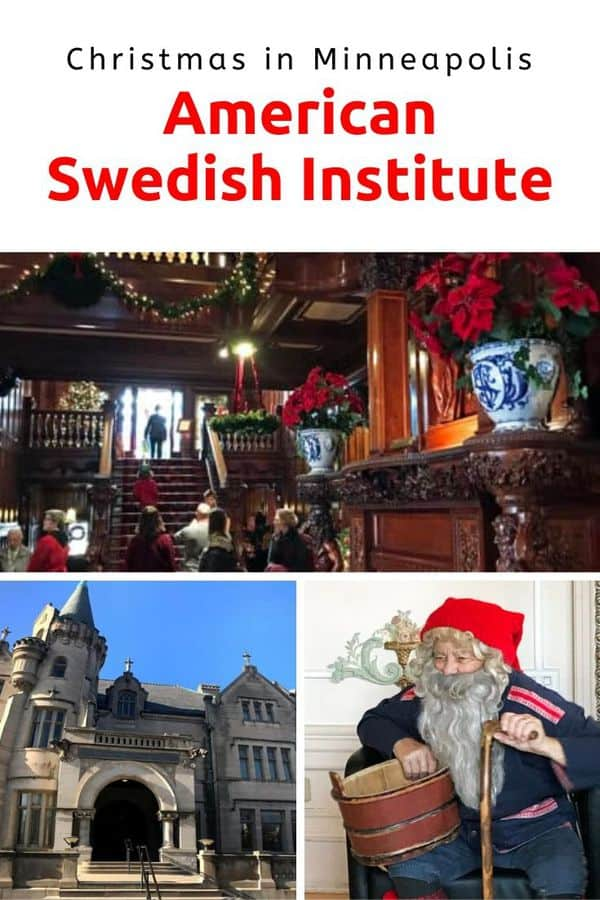 Looking for a unique Christmas experience in Minneapolis, Minnesota? Visit the American Swedish Institute during the annual Julmarknad! It's a holiday weekend full of music, kid-friendly activities and festive foods. #Minneapolis #MeetMinnapolis #holidays #Christmas #familytravel