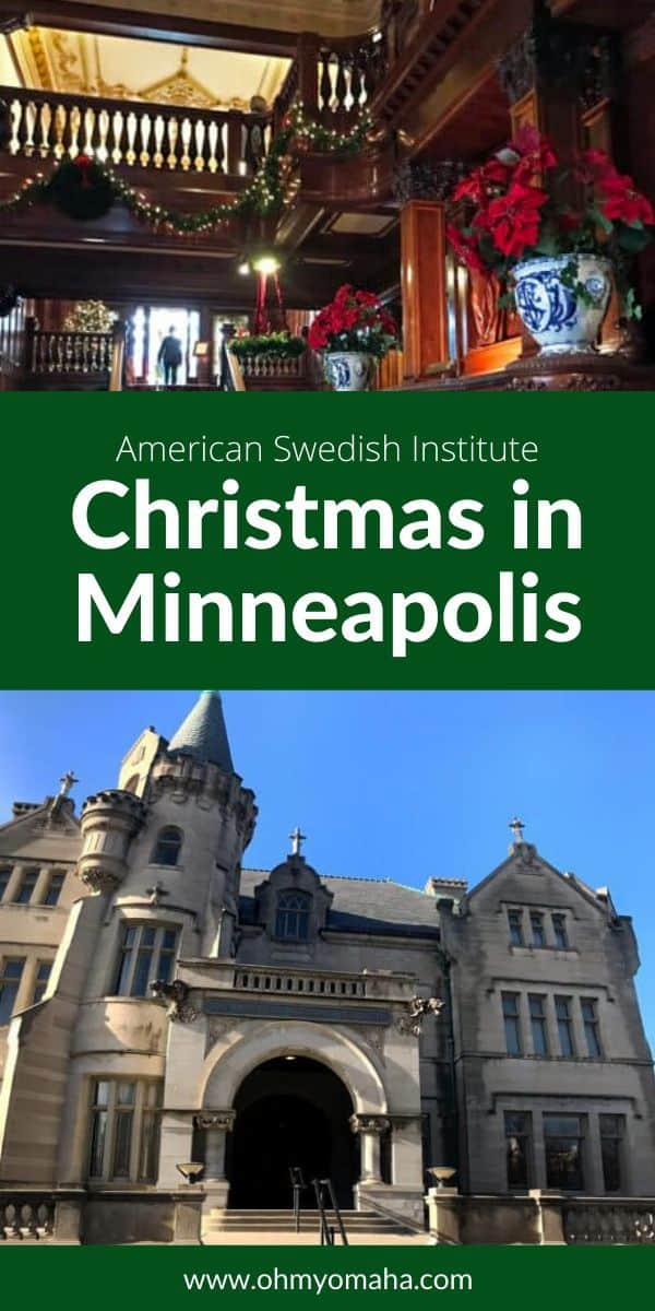 Julmarknad at the American Swedish Institute - The gorgeous setting of the cultural center combined with the festive atmosphere of the holiday market, make this annual event a not-to-be-missed family event! Find out what to expect if you visit this Minneapolis gem. #Minneapolis #Minnesota #Christmas #Festival