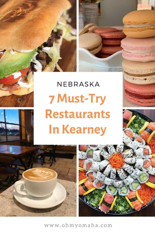 Kearney, Nebraska is known as the Sandhill Crane Capital of the world. If you're planning a trip to view the crane migration, here are a few restaurants you'll want to visit! #Kearney #Nebraska #Midwest