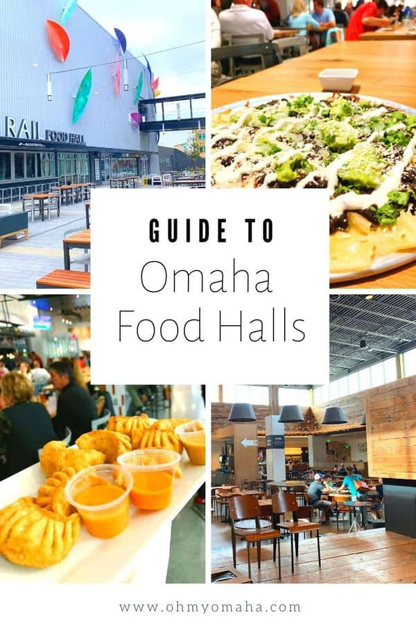 Looking for a new restaurant in Omaha to try? Head to one of Omaha's popular dining halls to try foods from both locally-owned restaurants and new concept quick-service restaurants. Use this guide to find out where to go, what to order, and which restaurants have kid's meals or specials. #Omaha #Restaurant #Nebraska #Breakfast #Lunch #Brunch #Dinner