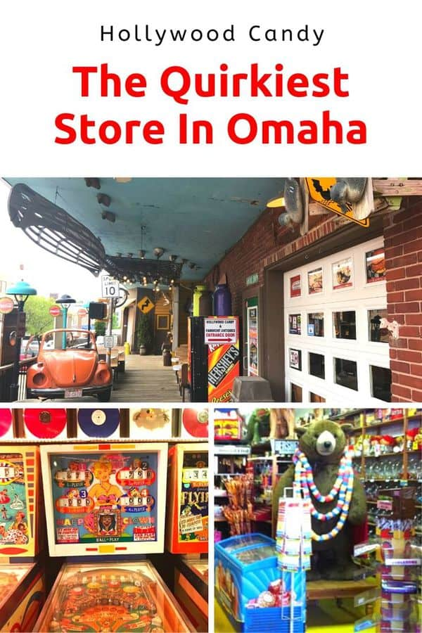 "More than a candy store, Hollywood Candy is an ""everything store"" featuring memorabilia, antiques, CANDY, and even a working movie theater and old pinball games. Here's everything you need to know about this unique Omaha shopping opportunity. #Omaha #Nebraska #Midwest #ShopLocal"
