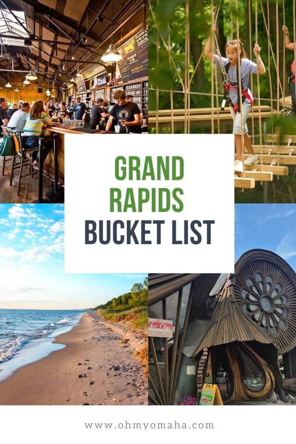 Planning a trip to Grand Rapids, Michigan? Here's a bucket list of things to do, see, and play in Grand Rapids. Must-see Grand Rapids attractions | Where to eat in Grand Rapids | Grand Rapids restaurants |  Best things to do in Grand Rapids #Michigan #GrandRapids #BucketList #Midwest